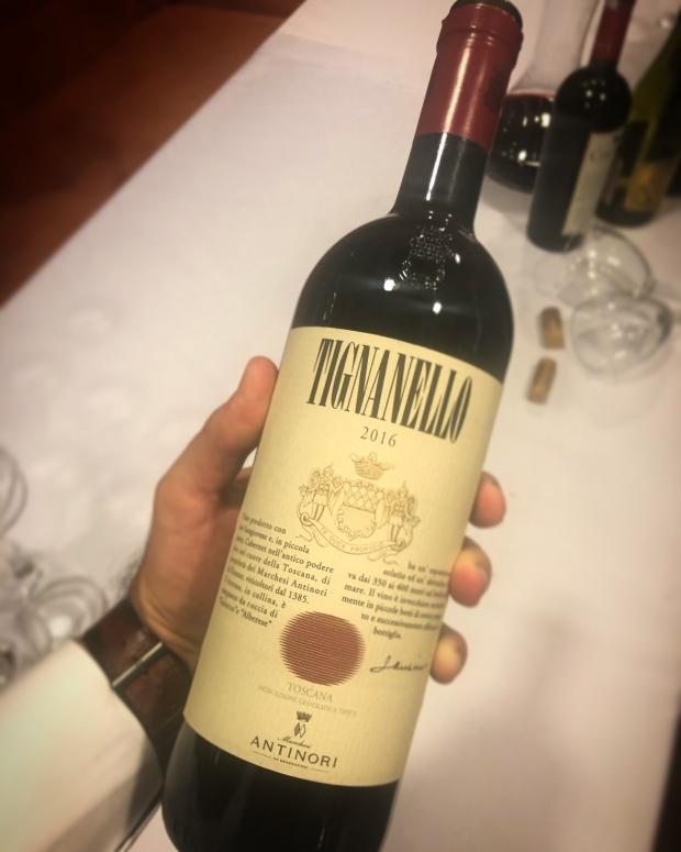 Tignanello meyzen 2016 italian wine şarap super tuscan cabernet sauvignon franc sangiovese antinori