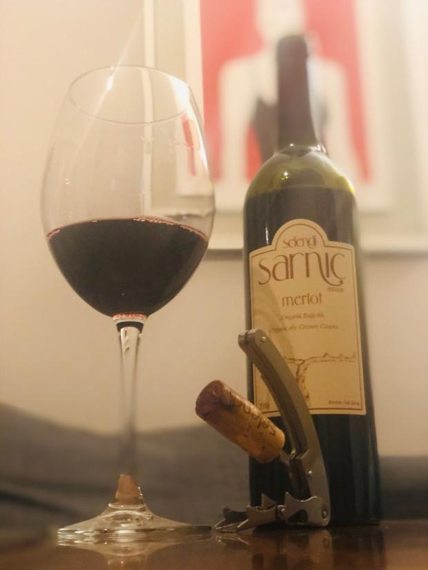 Selendi sarnıç merlot 2016 wine vino vin şarap kırmızı red akhisar wein turkish