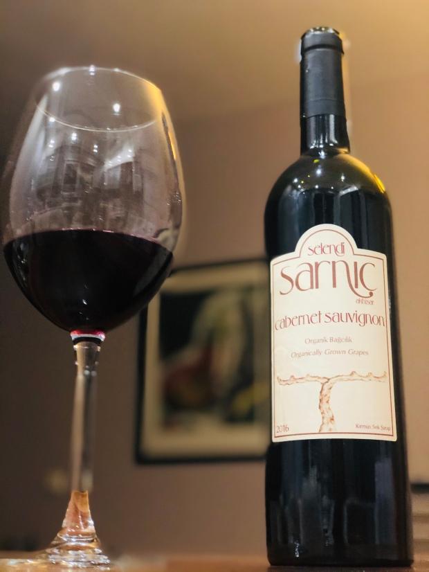 meyzen selendi sarnıç sarnic cabernet sauvignon wine şarap red kırmızı akhisar organic organik