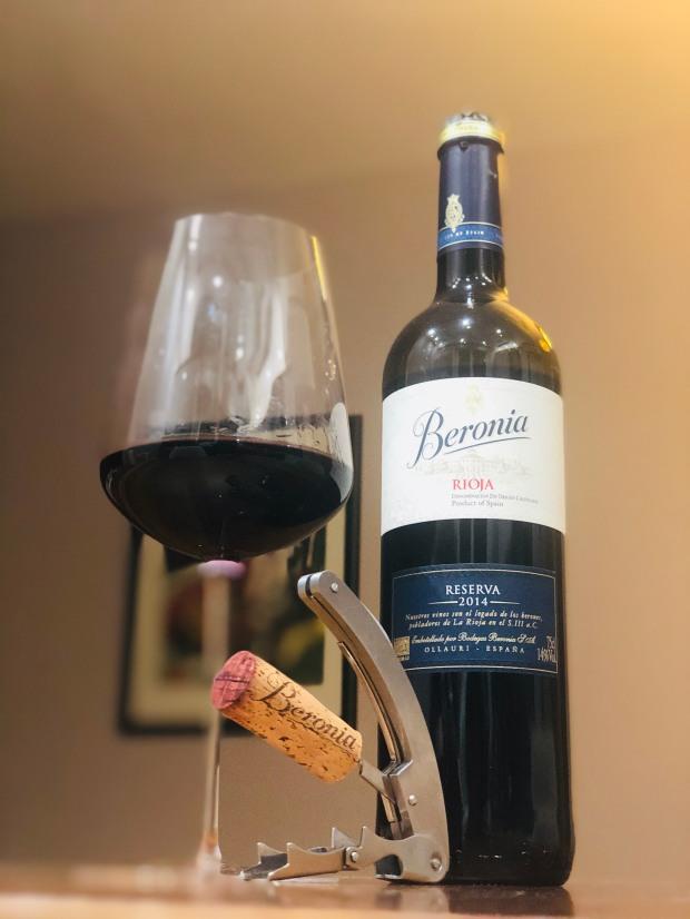 Beronia Reserva 2014 Rioja Espana Spain İspanya Wine şarap vino vin wein
