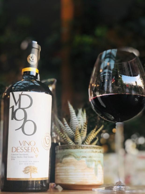 şarap wine vino vin vino dessera vd 190 2016 turkish türk turco cabernet sauvignon merlot shiraz syrah petit verdot